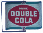 Drink Double Cola Spinning Sign