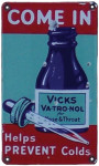 Vicks Va-Tro-Nol Sign