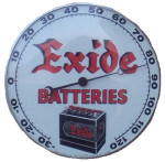 Exide Batteries Thermometer