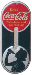 Coca-Cola Thermometer Sign