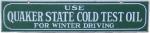 Quaker State Oil Strip Sign