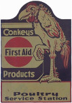 Conkeys First Aid Product Sign