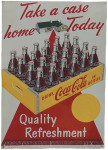 Coca-Cola Take A Case Home Today Sign