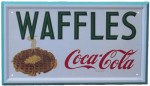 Coca-Cola and Waffles Sign