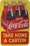 Coca-Cola Six-Pack Carton Sign