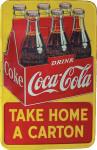 Coca-Cola Six-Pack Carton Sign