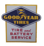 Goodyear Tires Service Sign