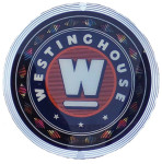Westinghouse Round Lighted Sign
