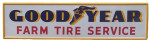 Goodyear Farm Tire Service Sign