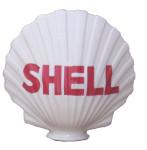 Figural Shell Gas Globe