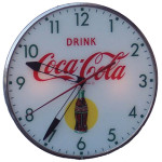 Coca-Cola Lighted Clock