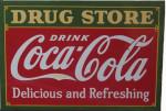 Drug Store Coca Cola Sign