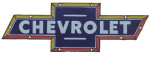Chevrolet Logo Die-Cut  Sign