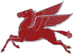 Red Pegasus Sign