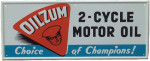 Oilzum 2-Cycle Motor Oil Sign