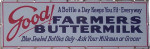 Farmers Buttermilk Sign