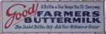 Farmers Buttermilk Sign