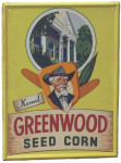 Greenwood Seed Corn Sign