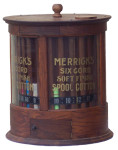 Merrick's Cotton Thread Store Display