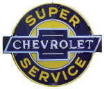 Super Chevrolet Service Neon Sign