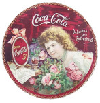 Coca-Cola Hilda with Roses Hanger