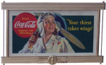 Coca-Cola Your Thirst Takes Wings Sign