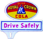 RC Cola License Plate Topper