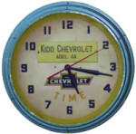Chevrolet Wall Clock