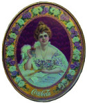 Coca-Cola 1903 Hilda Oval Tray