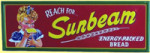 Sunbeam Brand Bread Sign