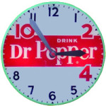Dr Pepper Clock