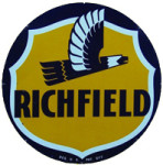 Richfield Oil Eagle Sign
