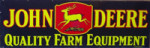 John Deer Farm Equipment Sign