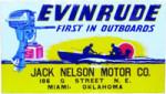 Evinrude Outboard Dealer Sign