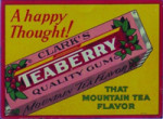 Teaberry Gum Sign