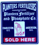 Planters Fertilizers Sign