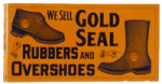 Gold Seal Shoes Sign