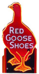 Neon Red Goose Shoes Sign