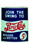 Join The Swing To Pepsi-Cola Sign