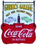 Garage Service Coca-Cola Sign