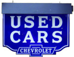 Chevrolet Used Cars Sign