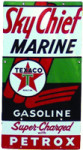 Texaco Sky Chief Marine Sign