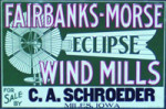 Fairbanks-Morse Windmills Sign