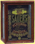 Sauers Flavoring Extracts Display