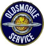 Oldsmobile Service Globe Sign