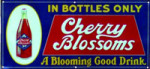Cherry Blossoms Soda Sign