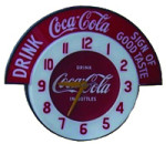 Coca-Cola Sign of Good Taste Clock