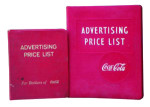 Coca-Cola Advertising Price List
