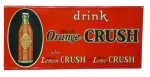 Drink Ward's Orange-Crush Sign