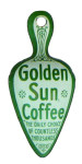 Golden Sun Coffee Tin Scoop